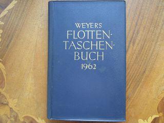 Weyers Flottentaschenbuch 1962 Bild