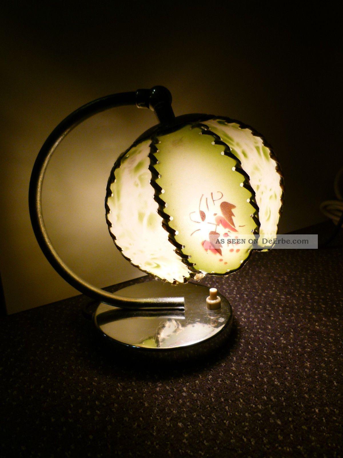 Kleine nachttischlampe art deco ca 1930 for Kleine nachttischlampe