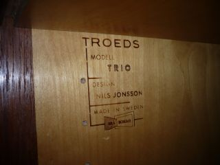 Nils Jonsson Teak Sideboard Troeds Midcentury Vintage Model Trio Bild