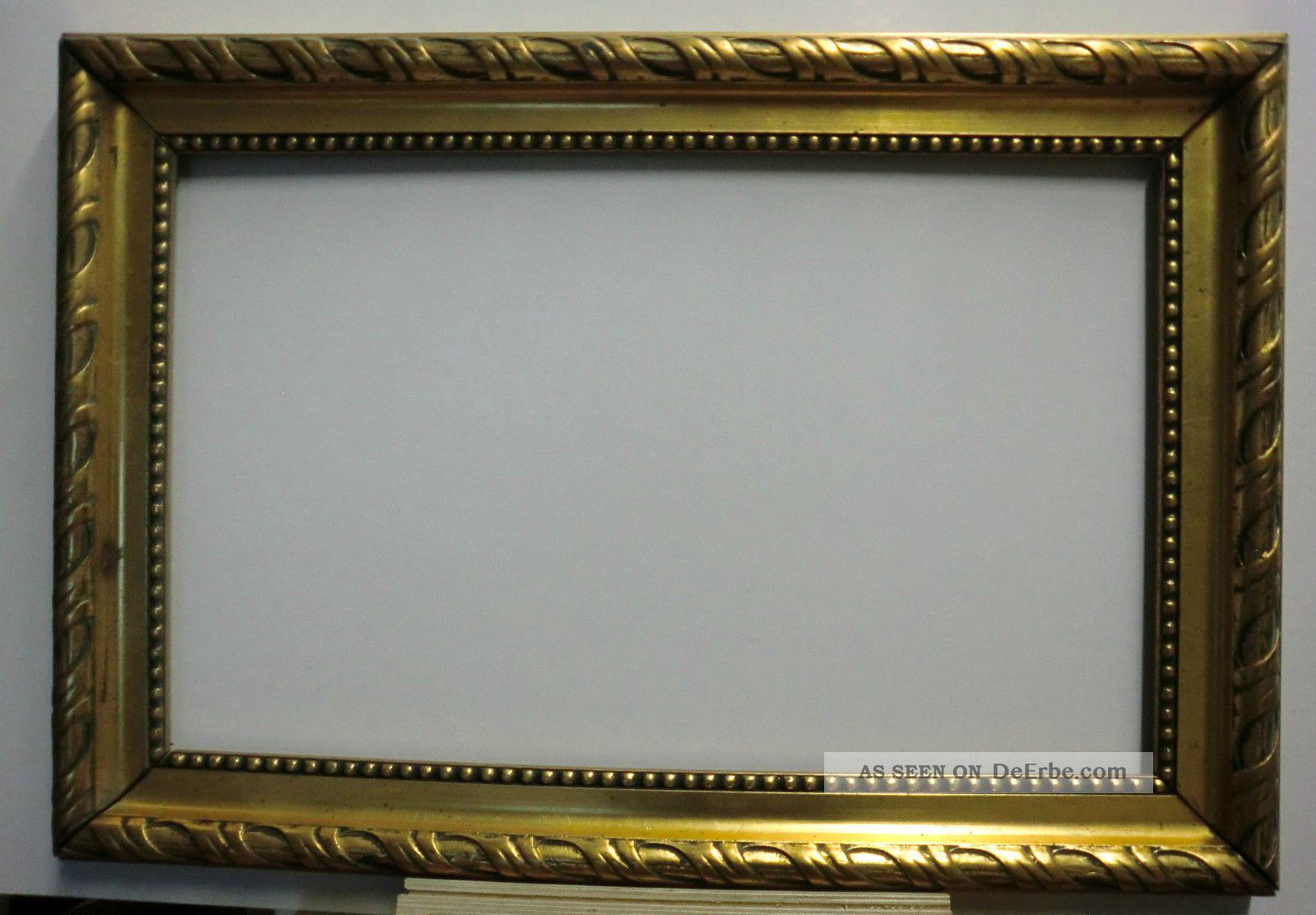 Bilderrahmen, Gemälderahmen Antik, Groß, Gold, Sehenswert