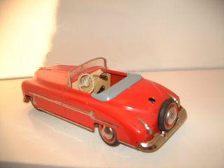 Distler Cabrio Straßenkreuzer Mit Krückstockschaltung Uhrwerkantrieb (selten) Bild