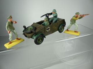 Britains Deetail Wehrmacht Kübelwagen,  Soldaten Afrika Korps Bild
