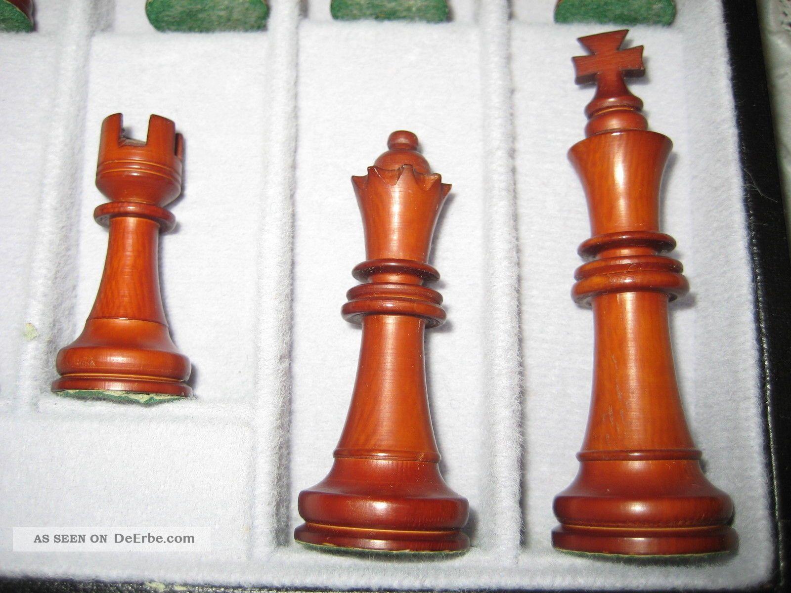altes schachspiel bein handarbeit in schatulle komplett sehr edel. Black Bedroom Furniture Sets. Home Design Ideas