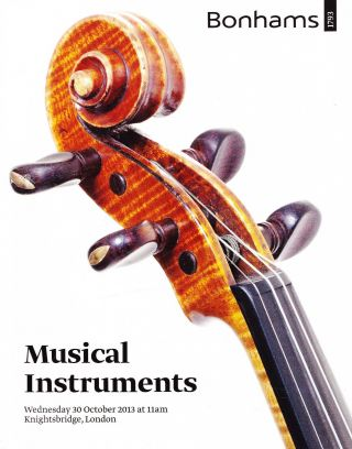Musical Instruments: Gagliano,  Grancino U.  A.  : Katalog Bonhams,  London 13 Bild