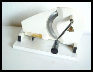 Brotschneidemaschine Handkurbel Greaf.  Allesschneider Bild