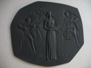 Buderus Reliefplatte,  Musiker/konzert
