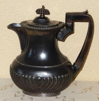 Antike Teekanne Aus England - Versilbert - Ca.  Um 1900 Bild