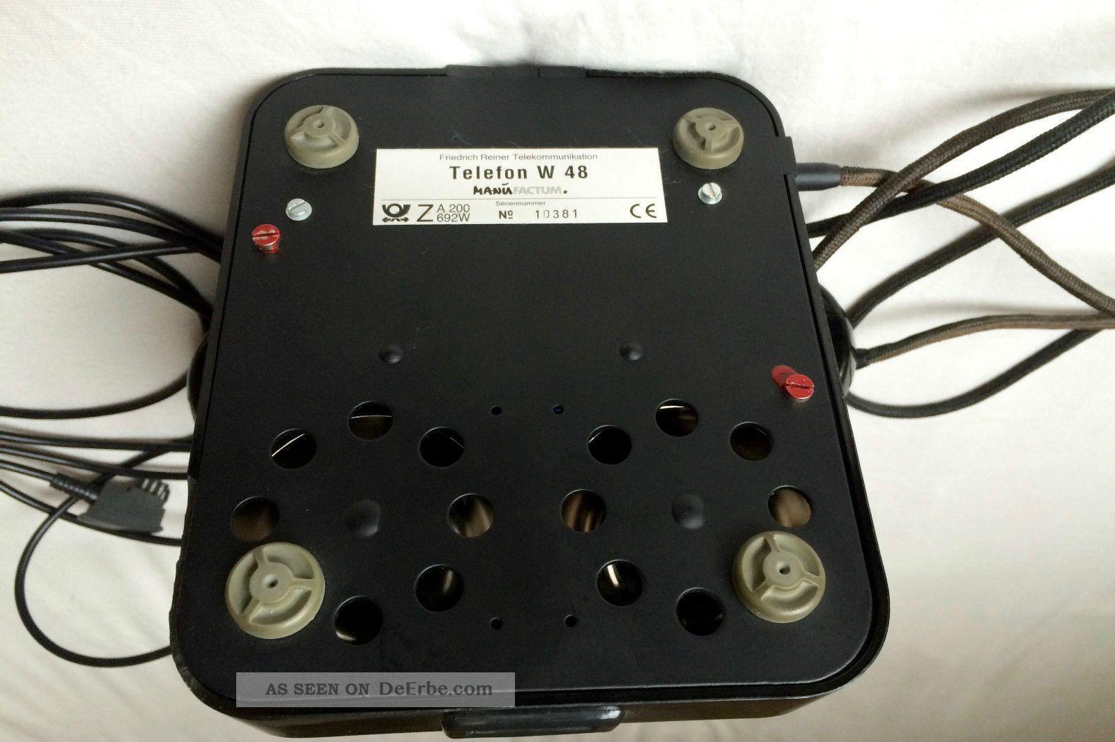 77da560ec6f49c Manufactum Telefon W48 Schwarz Aus Bakelit