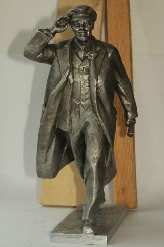 Sowjetisch Ussr Selten Metall Büste Von Lenin V.  I.  Kommunist Vintage Ж Bild