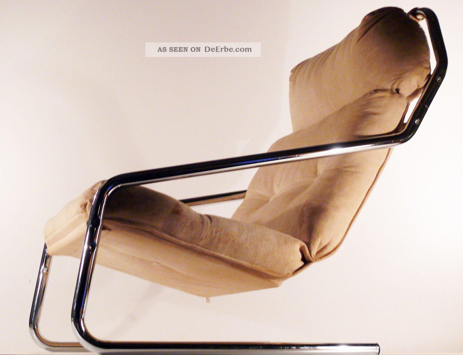 Herlag freischwinger sessel easy chair bauhaus stahlrohr for Design sessel bauhaus