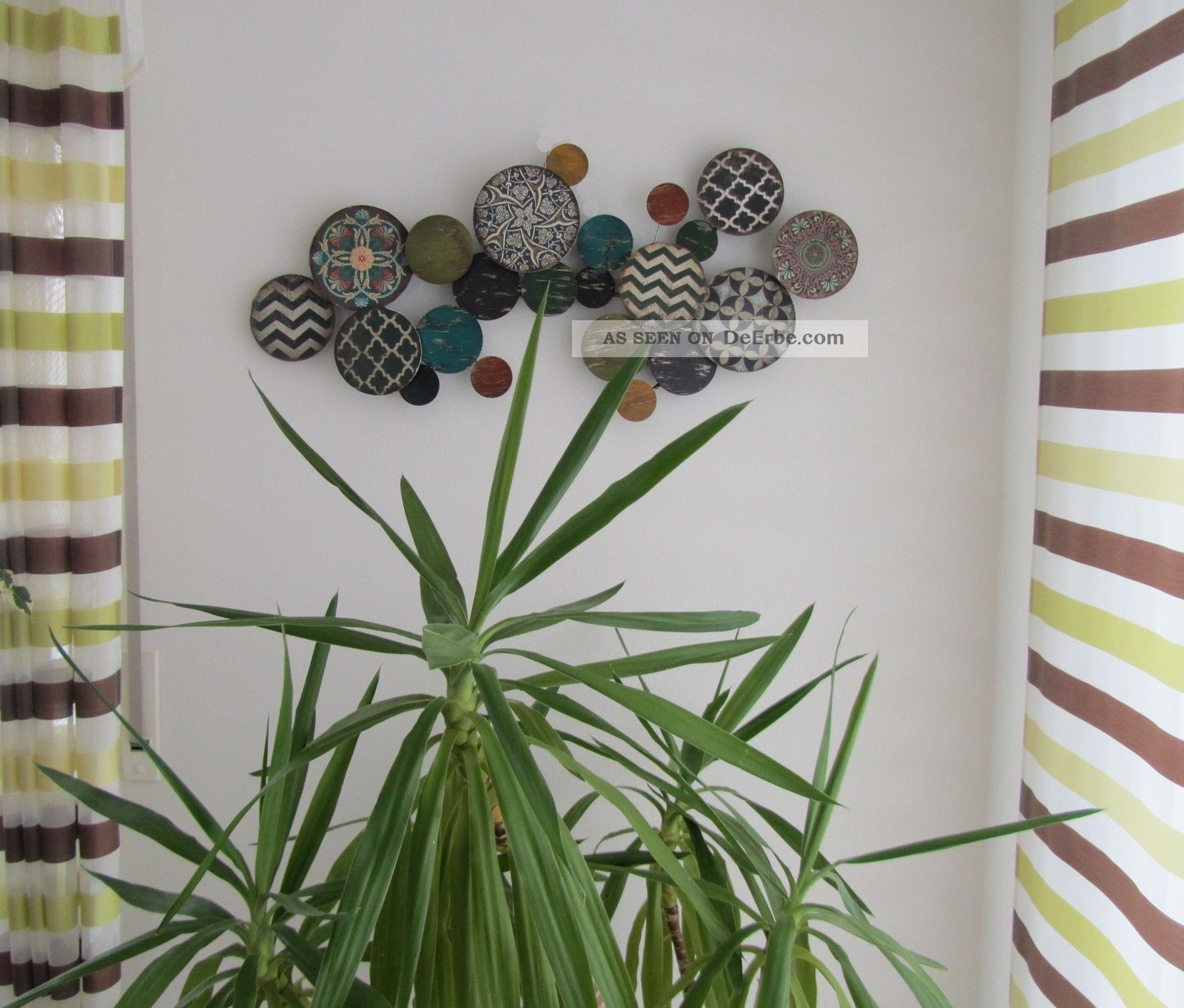 Wanddeko design metall ihr traumhaus ideen - Wanddeko metall abstrakt ...