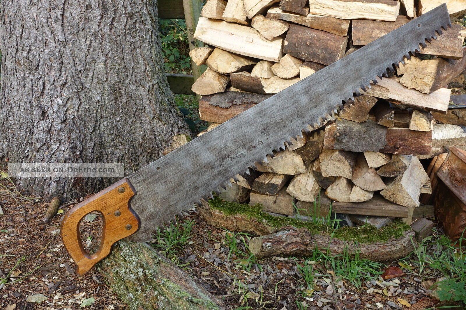 Kräftige Ein - Mann Schrotsäge,  Brennholzsäge,  Handgeschärft,  1 Man Cross Cut Saw Zimmermann Bild