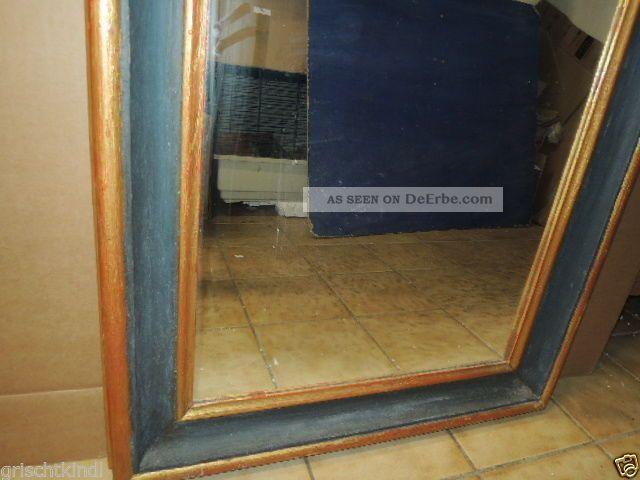 alter grosser holzgeschnitzter spiegelrahmen mit neueren spiegel 18 19 jhrt. Black Bedroom Furniture Sets. Home Design Ideas
