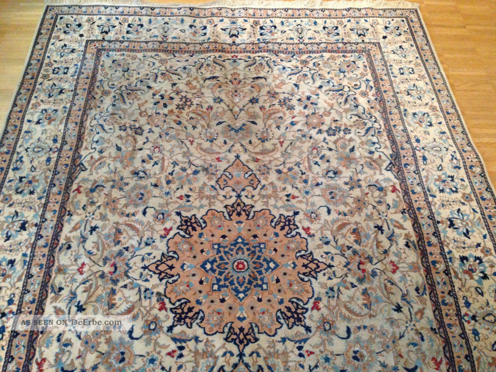 teppich handgekn pft orient royal 265x172 cm carpet tappeto tapis. Black Bedroom Furniture Sets. Home Design Ideas