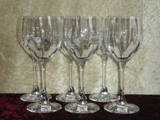 6 Edle Spiegelau Kristall Wein - Gläser Glas,  Blei,  Sekt,  Feier,  Likör,  Bier,  (337) Bild