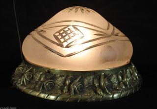 Große Jugendstil Lampe - Deckenlampe - Plafoniere Bild
