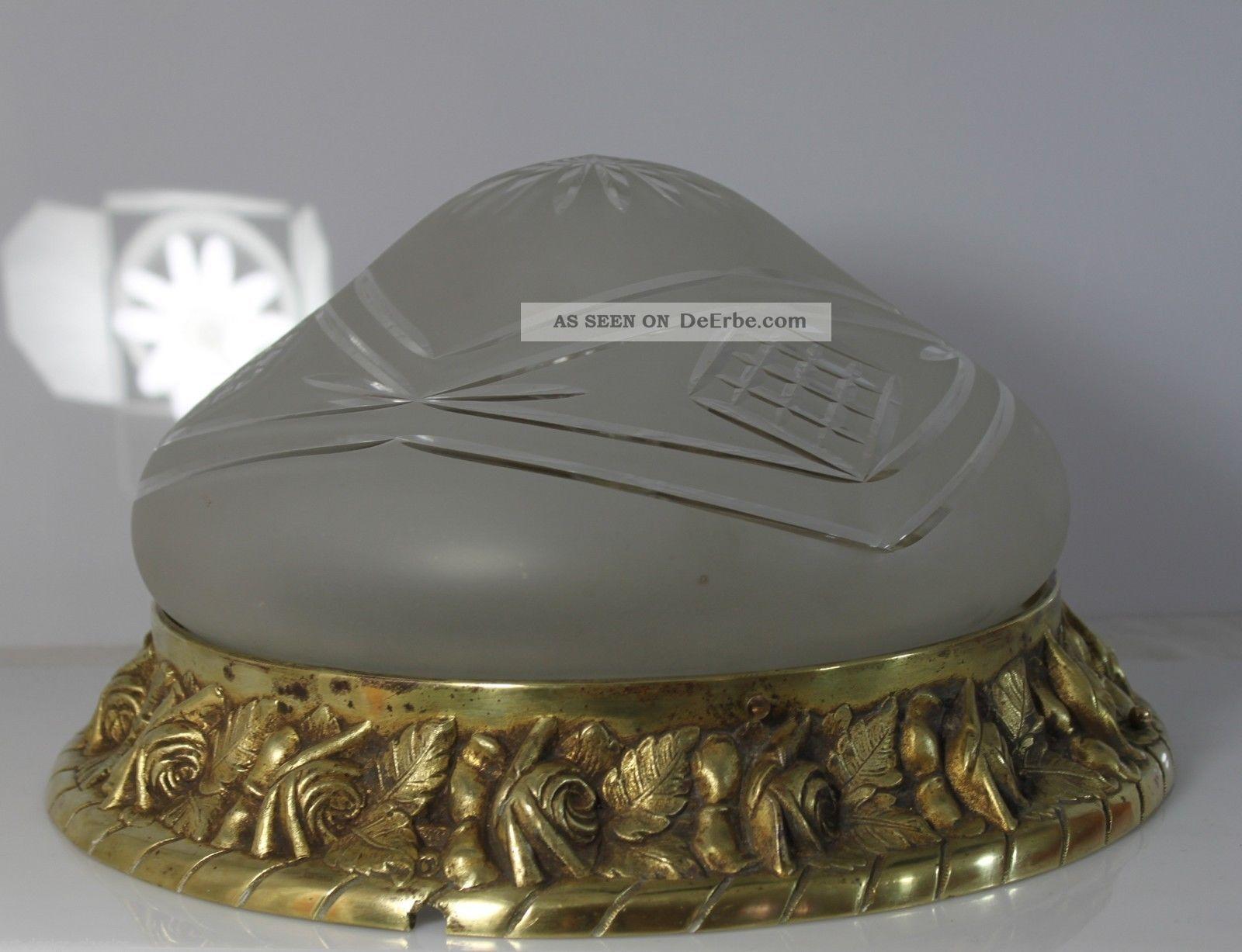 Deckenlampe Jugendstil Plafoniere : Große jugendstil lampe deckenlampe plafoniere