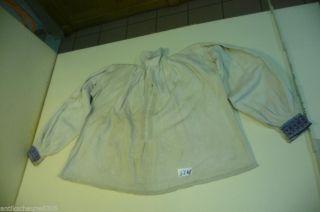 5248.  Altes Leinen Hemd Bluse Bild