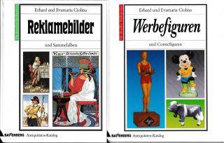 2 Battenberg Antiquitäten - Katalog Reklamebilder Werbefiguren Sammelalben Comic Bild