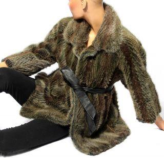 Pelzjacke Pelzmantel Fur Coat Pelz Mantel Jacke Nutria Coypu Fourrure S - M Bild