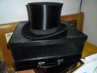 Zylinder Chapeau Claque Exposition Universelle 58 Cm Bild