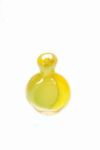 Schönes Schnupftabakglas Bixl Schnupftabakflasche ; Höhe: 5 Cm Bild