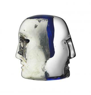 Excl Kosta Boda,  Brain - Janus - By Bertil Vallien,  Unbenutzt Bild