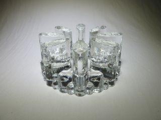 Schönes Stövchen Aus Glas,  Glasstövchen,  Klein Massiv Teelicht Teelichthalter Bild