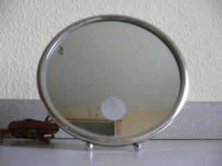 Spiegel Rasierspiegel Kosmetikspiegel Mit Lampe,  Artdeco Frankreich Um 1930 Bild