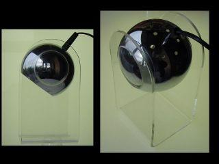 Tischlampe Gino Sarfatti Arteluce Um 1968 Chrom,  Acryl Für Den Damenschreibtisch Bild