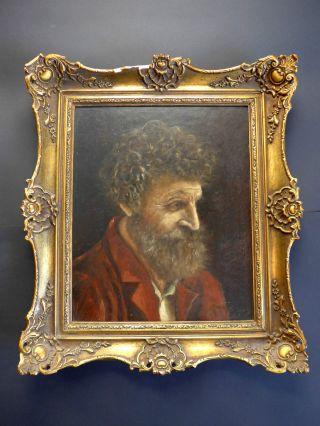 Portrait Eines Malers,  Gelehrten? Signatur