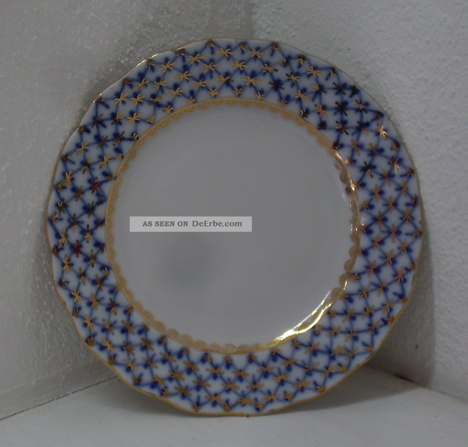 lomonosov kobaltnetz teller 15 5 cm porzellan ussr stempel 1 wahl. Black Bedroom Furniture Sets. Home Design Ideas