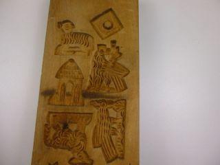 Alte Holzmodel - Backmodel - Felder Geschnitzt (90 - 02) Bild