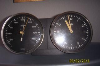 Braun Domoset Uhr,  Barometer Typ 4833,  Dietrich Lubs,  Dieter Rams 1979 - 1982 Bild