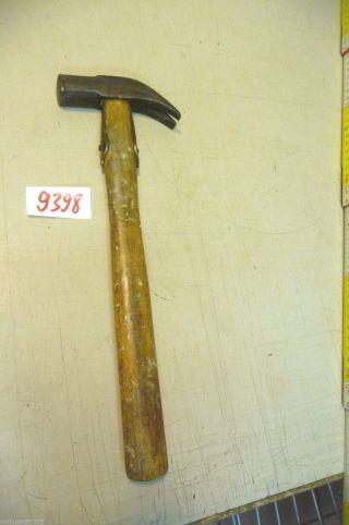 Nr.  9398.  Alter Hammer Schusterhammer Old Hammer Work Tool Bild