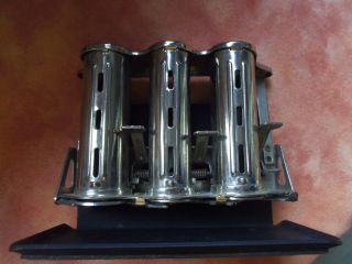 MÜnzwechsler 3 FÄcher 586 Gr.  Maße: 13,  4 X 10,  0 X 8,  3 Cm Dm Geldwechsler Metall Bild