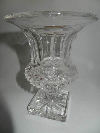Vase Kristall Saint Louis France Modell Versailles Höhe 15 Cm Bild