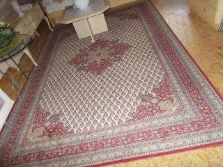 ♥ Orient Teppich ♥ 200 X 300 Cm ♥ Schurwolle ♥ Rot Muster ♥ Aus Nachlass ♥ Bild