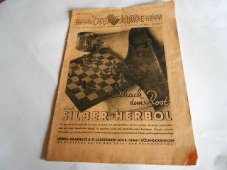 Zeitschrift Malerzeitung Von 1936 Bild