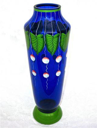 Jugendstil - Vase,  F.  Heckert Um 1900 Bild