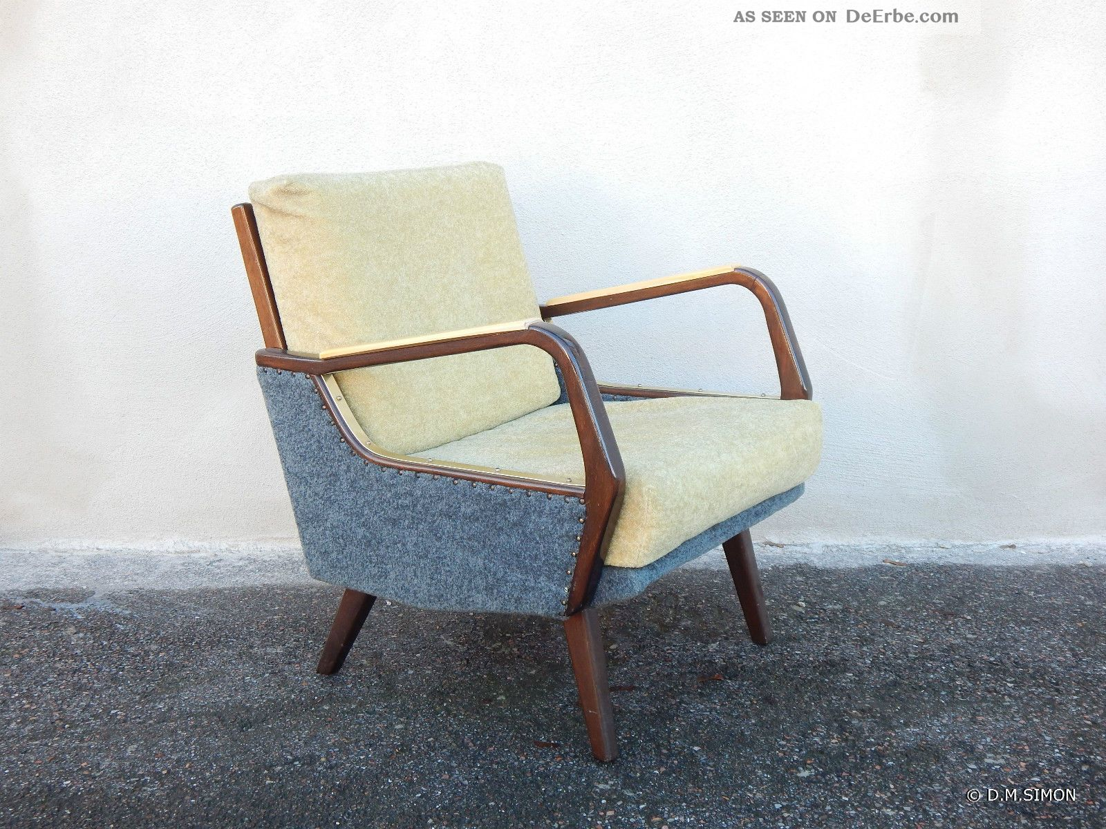 Sessel easy chair lounge 50er jahre mid century for Sessel 50er jahre stil