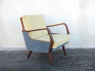 Sessel Easy Chair Lounge 50er Jahre Mid Century Tütenlampen Ära Bild