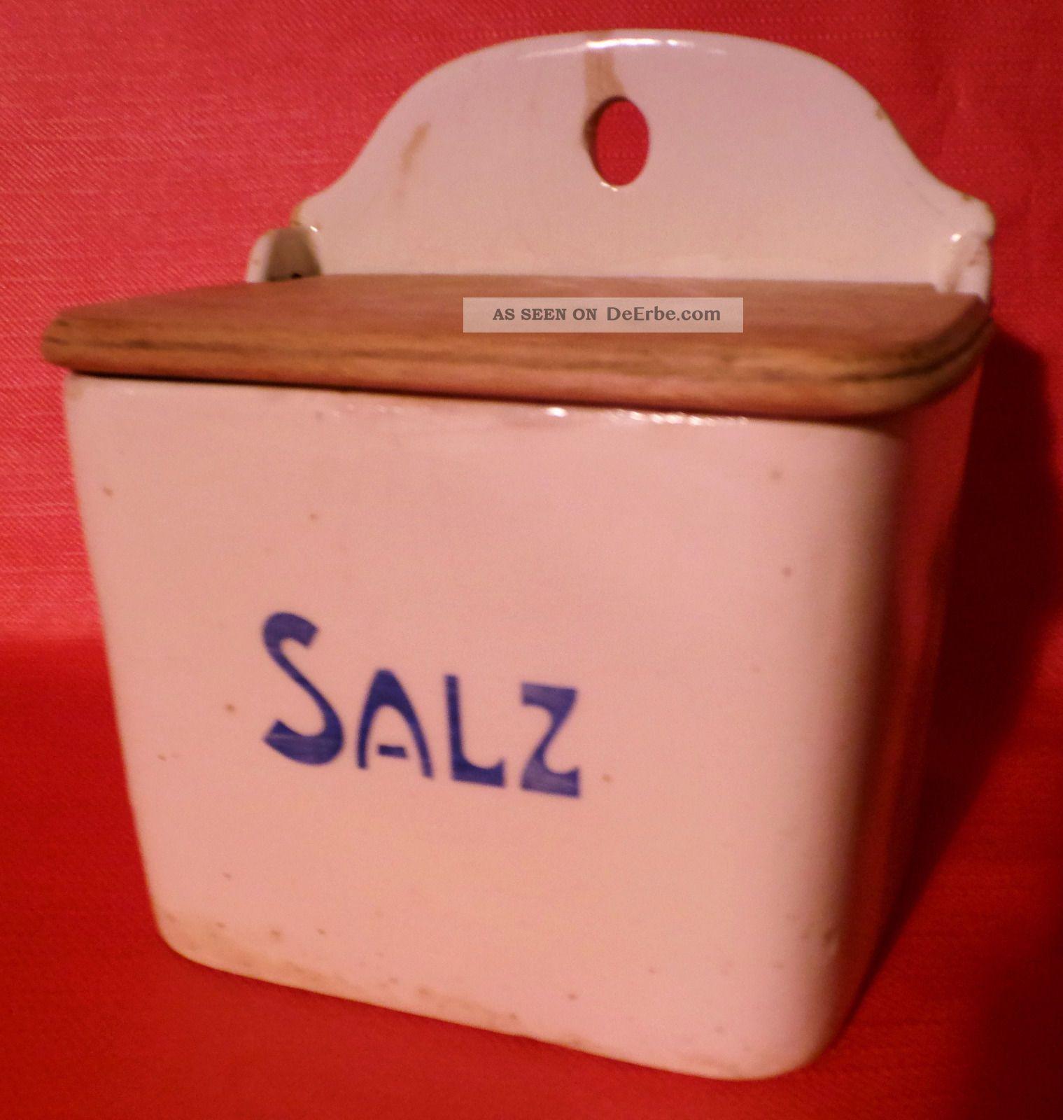 Antiker Salz - Kasten Aus Küche