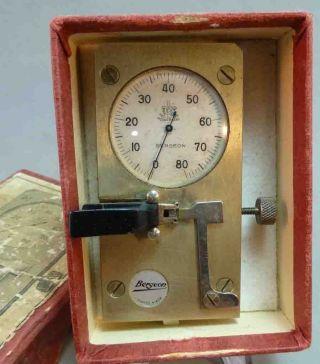 Aus Uhrmacherwerkstatt Bergeon 2229 Hemmungsprüfgerät - Echappemeter Bild