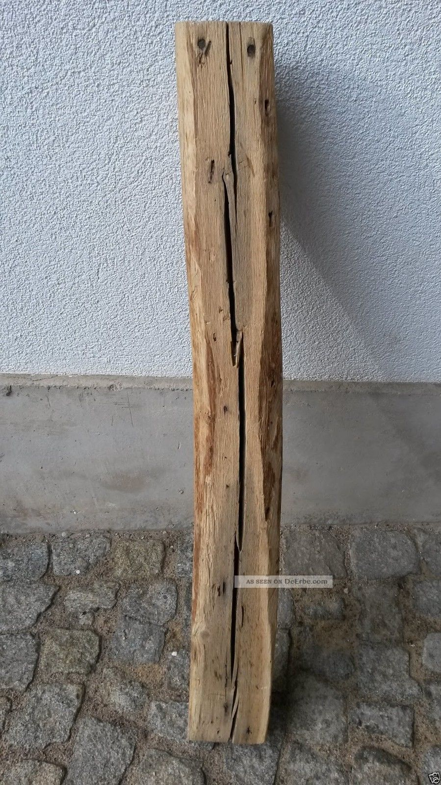 Altes Antikes Eichen Kantholz Fachwerkholz Balken Deko