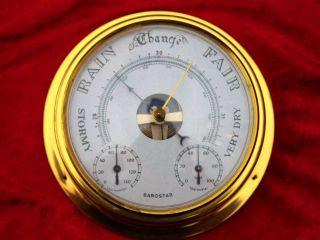 Marine - Präzisions - Baro - /thermo - /hygrometer