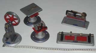 Wilesco Kreissäge Bügelsäge Transmission Stanze Schleifmaschine Bild