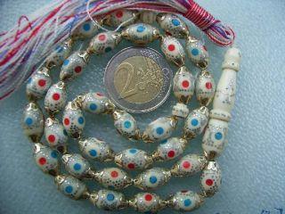 Camel Bone Gebetskette Tesbih Islam Koran Prayer Beads Tesbih Subha TÜrk Bild