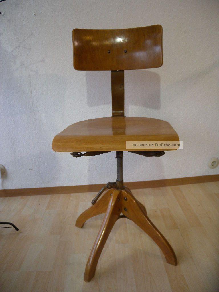 Polstergleich industriedesign werkstatt stuhl drehstuhl for Industriedesign stuhl