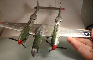 Lockheed P - 38 Lightning In Weltkrieg Ii Lackierung,  Vollmetall,  Ca.  1/72 Bild